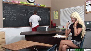 Lustful blond courtney taylor banging her fave prof