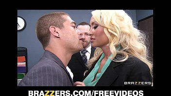 Greatly sexy blond summer brielle cant resist her co-worker