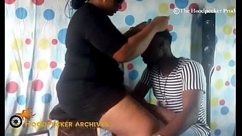 Hawt bbw south swarthy hair stylist gangbanged in her shop by bbc.